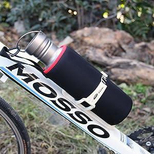 Bottle on bike