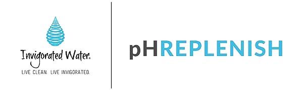 Invigorated Water pH REPLENISH UPC 761856339194 alkaline water pitcher
