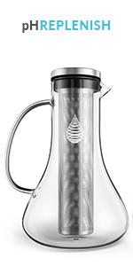 Invigorated Water pH REPLENISH UPC 761856339217 alkaline water pitcher