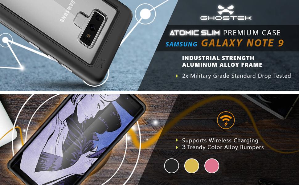 Ghostek Atomic Slim Series for Samsung Galaxy Note 9
