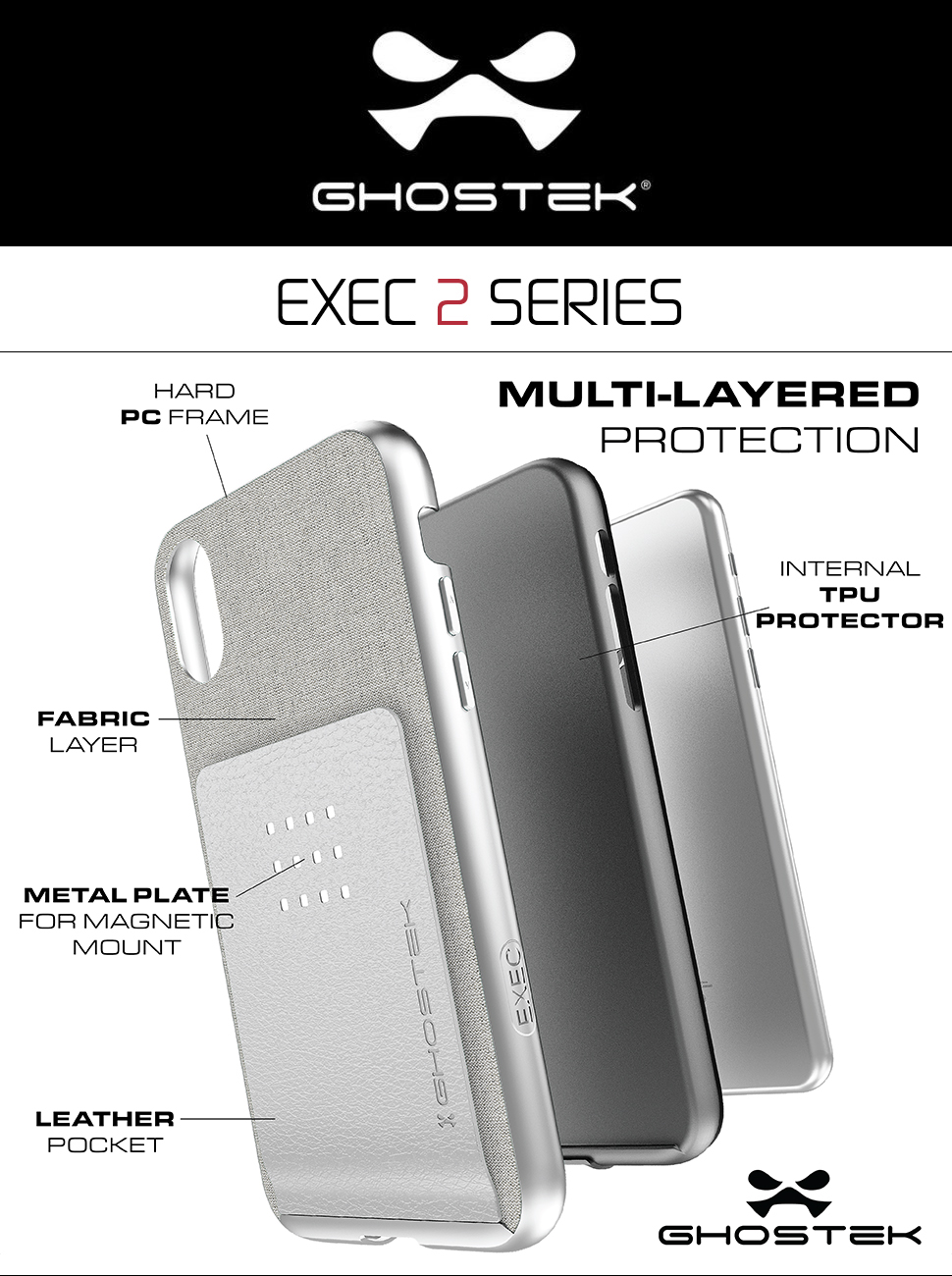 ghostek iphone x case