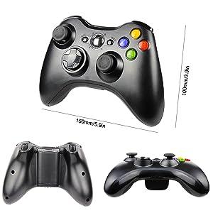 Amazon.com: JAMSWALL - Controlador inalámbrico Xbox 360, 2,4 ...