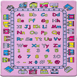 kids rugs carpet baby mats for playing large play mat for boys & girls playroom infant ABC