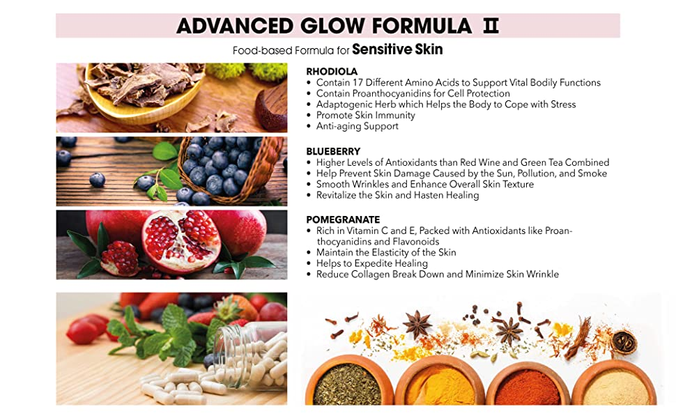 Amazon com: Solution-SS Advanced Glow Formula II - Organic Formula