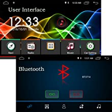 Android 9.0 Car Stereo for Volkswagen VW 2+16G 9inch with Canbus GPS Navigation Head Unit Quad Cord Bluetooth OBD WiFi Mirror Link Car Radio SWC ...