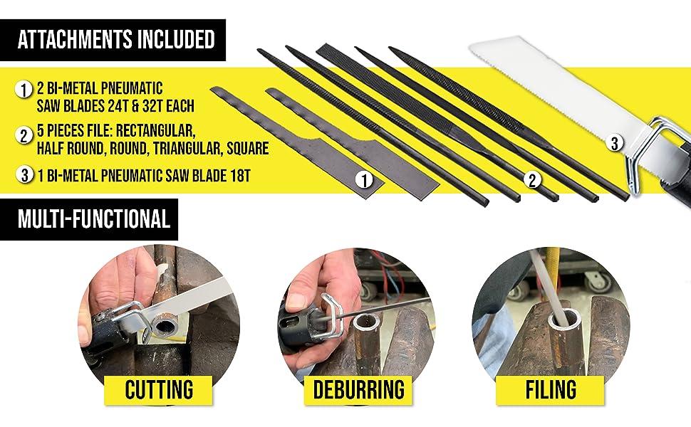 3 1//2 inch 18T made in USA Mini Air Saw Blades 10