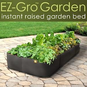 Amazon Com Victory 8 Garden Fabric Pots Raised Bed 4 Ft X 4 Ft