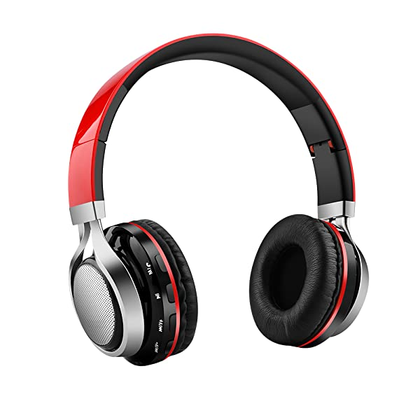 Aita BT816 Foldable wireless bluetooth LED stereo headphone