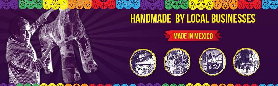 Handmade Piñatas!