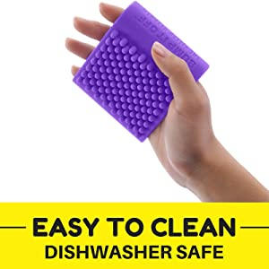 Bump It Off Silicone Cleaning Brush