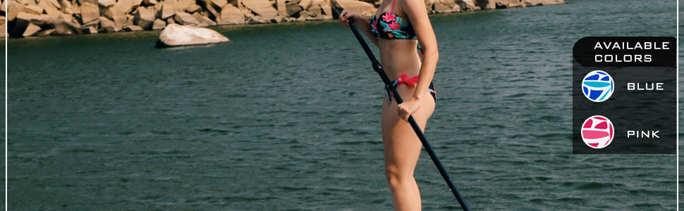 FunWater inflatable stand up paddle board. You can take it anywhere.