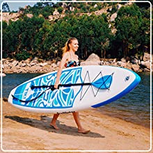 FunWater paddle board ULTRA LIGHT (17.6 lbs