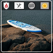 FunWater paddle board DURABLE MATERIALS