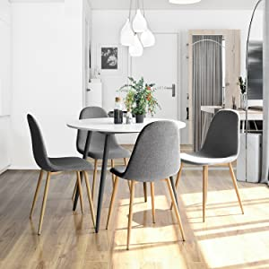 Modern Dining Chairs Suitable For Kitchen Dining Room, Coffee Room,resting  Room,entertainment Centres,and The Ergonomically Curved Form Is Perfectly  Adapted ...