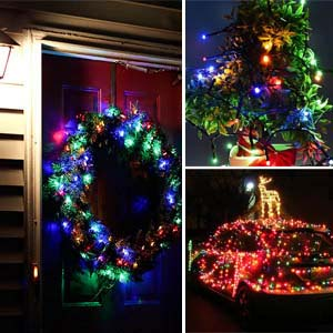 solar decorative string lights hang anywhere for stunning lighting effect saying wedding party bar cafe bedroom tree lawn bush fence yard wall - Decorative String Lights