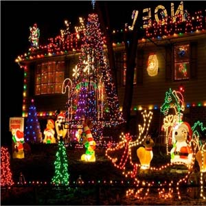 christmas lighting decoration. solar powered fairy lights wonderful light decorations christmas lighting decoration