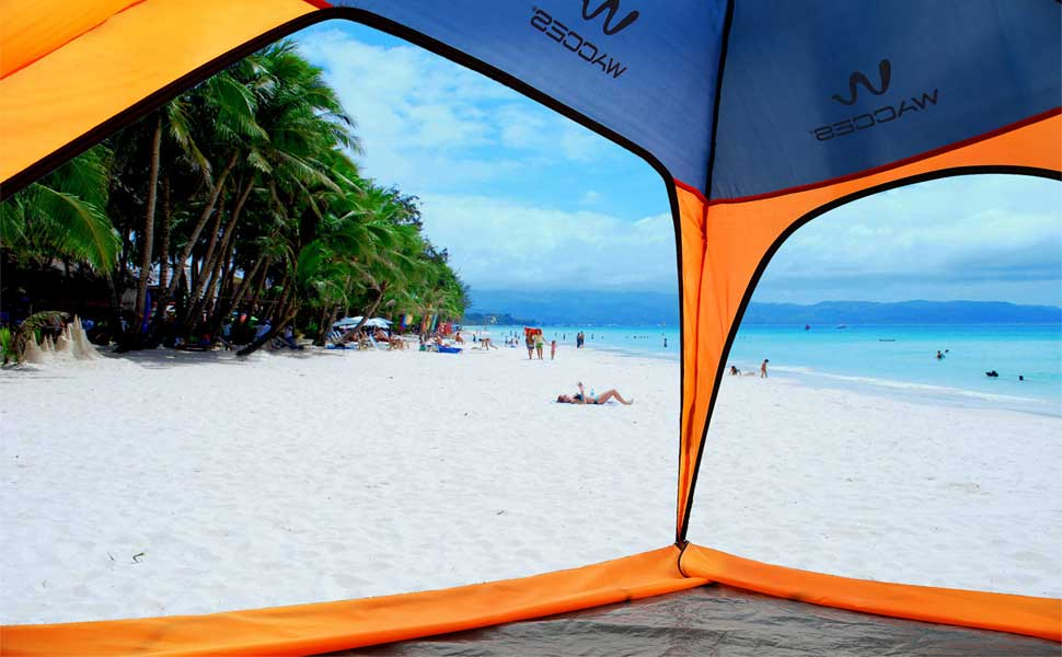 Wacces Fast Track 2-Person Dome type beach and park tent can be set up instantly by its unique designed mechanism. You can set up and take down whole tent ... & Amazon.com : Wacces Fast Track 2-Person Dome Type Beach And Park ...
