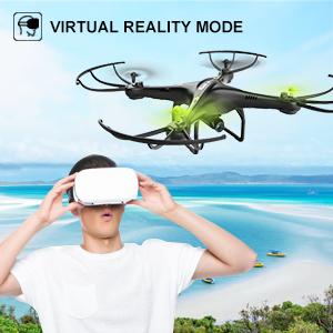 virtual reality mode