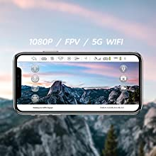 5G WiFi FPV Real Time Transmission