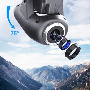 120°FOV 720P WiFi Camera