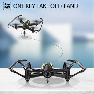 one key take off / landing