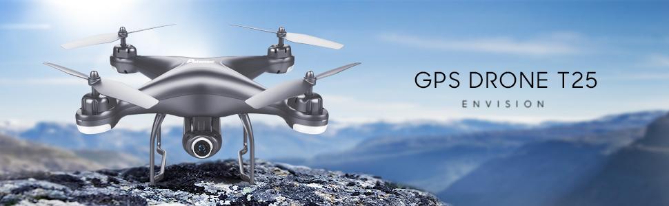 GPS DRONE T25