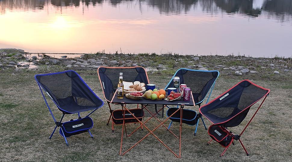 Amazon Com Ultralight Folding Camping Chair Portable