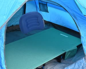 From tent c&ing to courtyard resting this folding cot is a nice addition to your gear. It is an ideal choice for backpackers climbers c&ers ... & Amazon.com: Ultralight Folding Tent Camping Cot Bed Portable ...