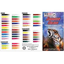 us art supply airbrush colors guide