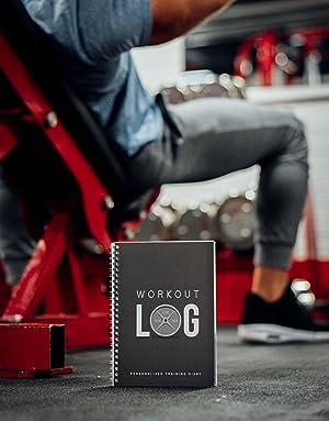 Amazon.com: Workout Log Gym - Agenda de entrenamiento y ...