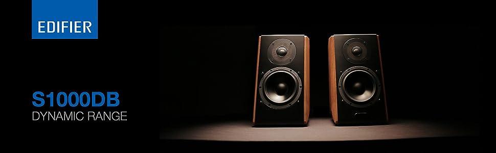 S1000DB speaker wood music audio sound bluetooth bass remote