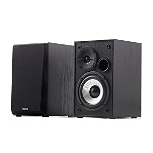 R980T black speaker music audio sound studio quality bass 2.0