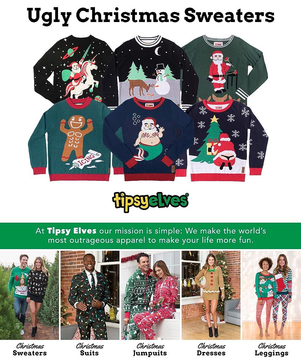 02fa629e8e Men s Santa Unicorn Christmas Sweater - Ugly Christmas Sweater for ...