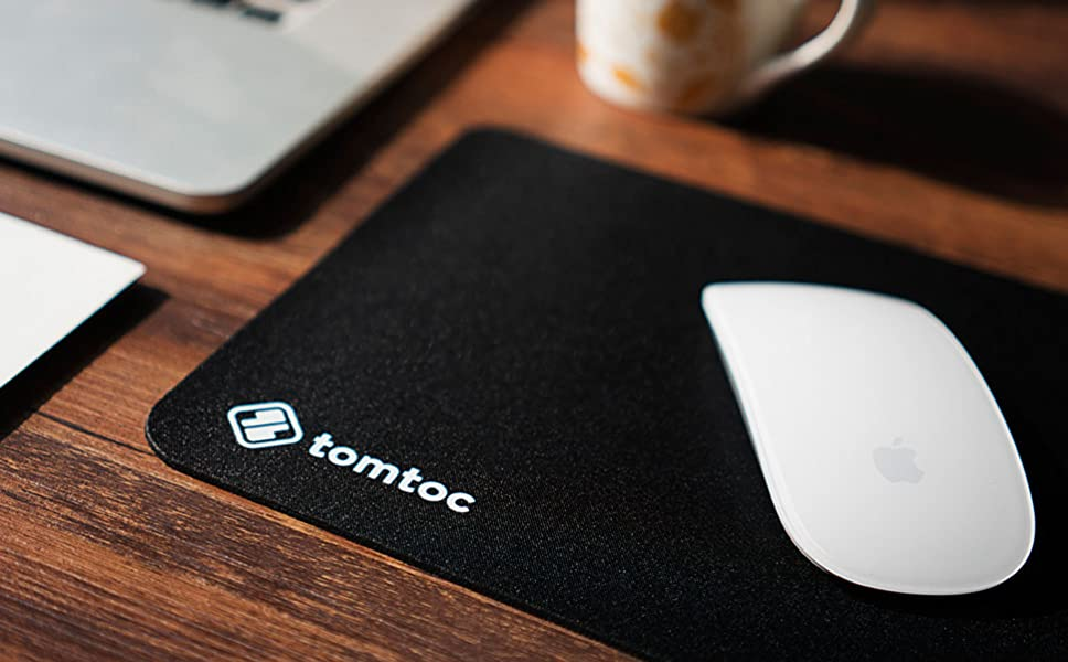 Tomtoc Ultra Thin Ergonomic Gaming Office Mouse Pad Mat Mousepad With  Non Slip Rubber Base