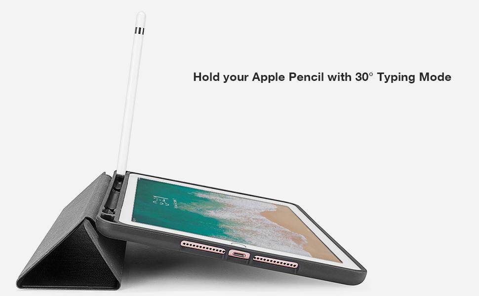 ipad 9.7inch smart case apple pencil holder
