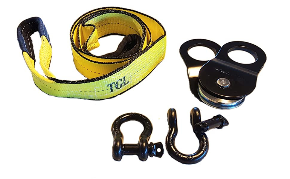 Buddy Systems 3 X 8 Tree Saver 30,000 LB Capacity Recovery Tow Strap