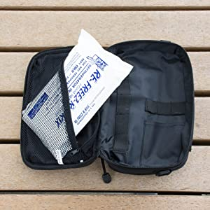polar tech foam ice pack diabetic bag loadout insulin blood glucose storage syringes double sided