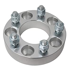 2 CHANGES BOLT PATTERN with 12x1.5 studs//nuts for many Chevy Camaro Corvette S10 GMC Jimmy S15 Pontiac Firebird GTO 5x120.7 to 5x127 Spacers Precision European Motorwerks 1 UberTechnic Wheel Adapters 5x4.75 to 5x5