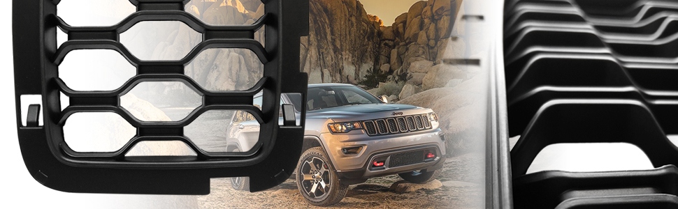 Grill Honeycomb Inserts for Grand Cherokee