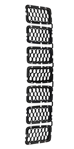 Honeycomb Black Grill Inserts for Grand Cherokee 2017 2018 2019