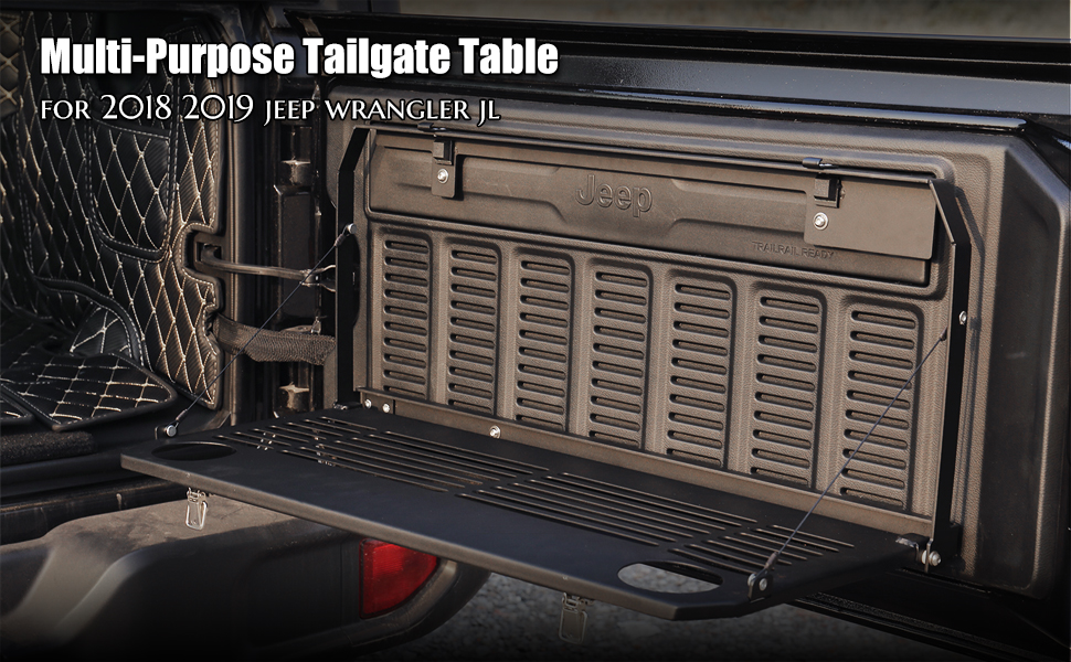 tailgate table for wrangler jl