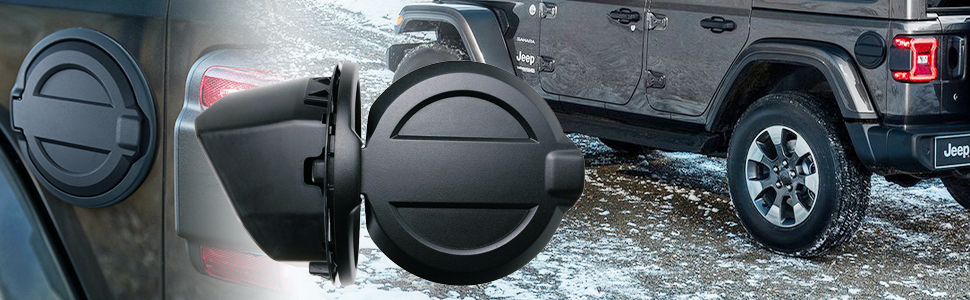 Fuel Cap Cover for Wrangler JL