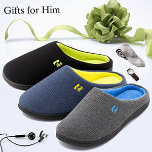 RockDove slippers make for a great gift for the hard-working husband, Dad, or friend in your life.