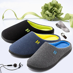 slipper gifts for him holiday presents for men casual slip on footwear for in the house