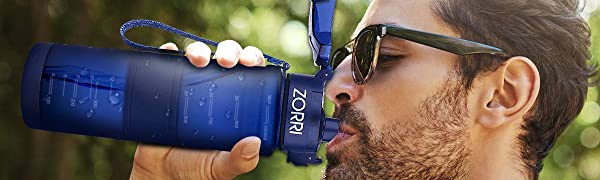 zorri water bottle for drinking