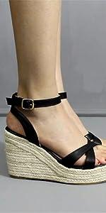 43764e934f MAKEGSI Womens Wedge · Wedge 02 · 03 · MAKEGSI Womens Wedge Jute-Rope  Platform Heel Summer Shoes Flip Sandals ...