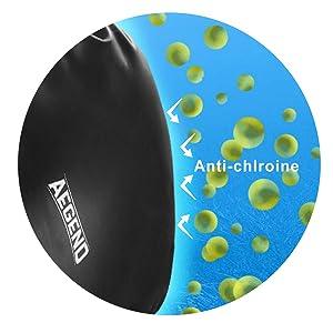 Amazon.com: Gorro de natación Aegend de silicona para ...