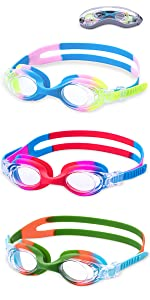 kids goggles swim goggles swimming goggles for children kids girls boys little swimmers