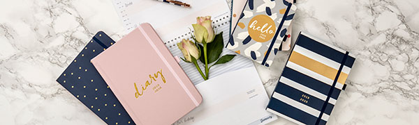 Amazon.com : Busy B Mid-Year 17 Month Diary 2019-20 - Week ...