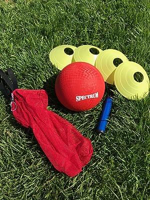 Amazon.com: Crecimiento Hero Kickball Set | Kickball bases ...